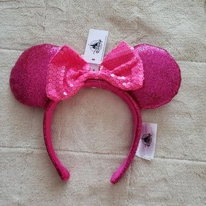 New Disney Parks Hot Pink Ears